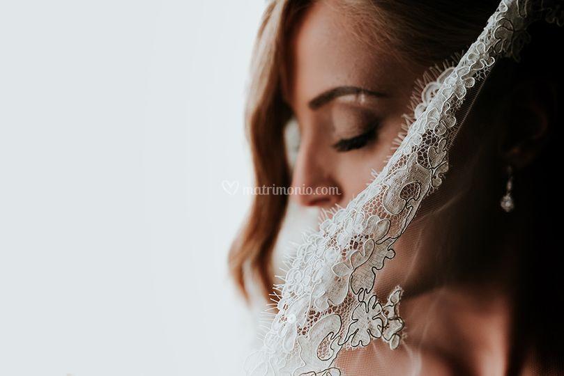 Dettagli/ vestito da sposa