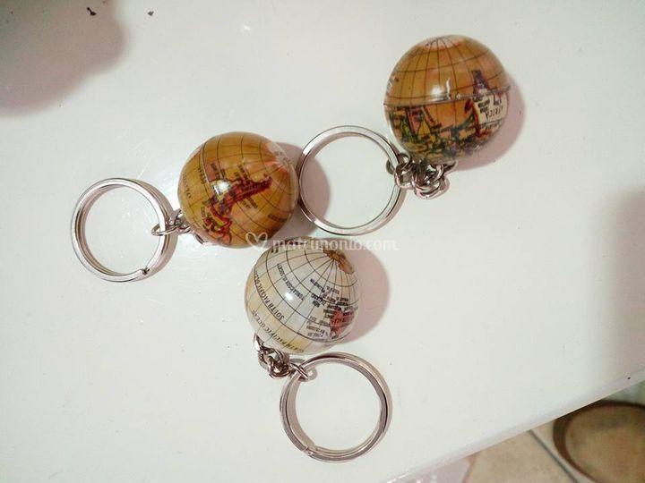 Mappamondo porta chiave