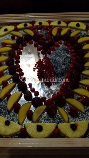 Gran buffet frutta e dolci