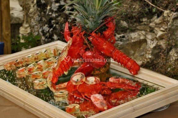 Deliziosi frutti di mare