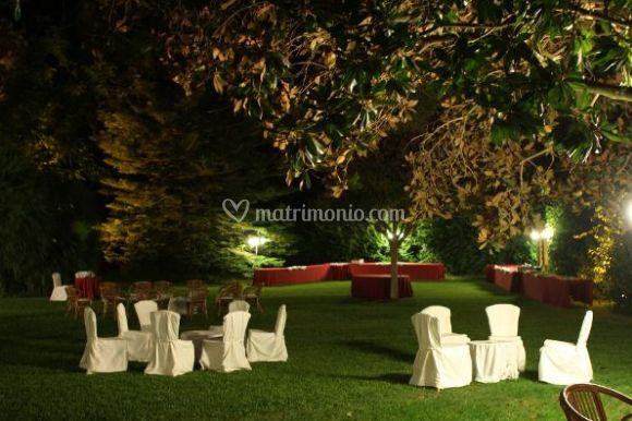 Amendolara catering for Allestimento giardino matrimonio