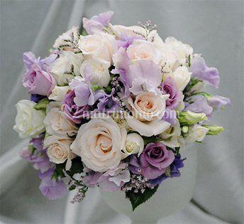 Bouquet con sfumatura lilla