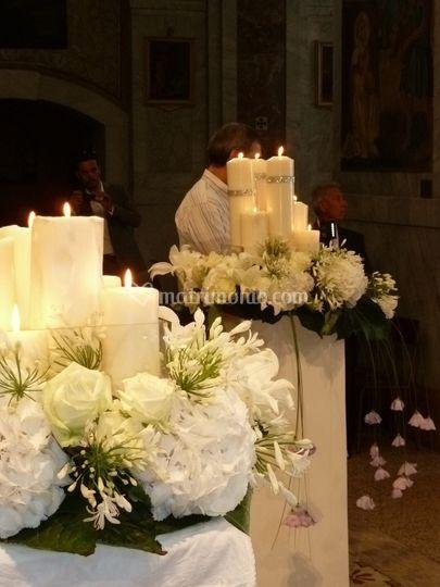 ...fiori.....candele....