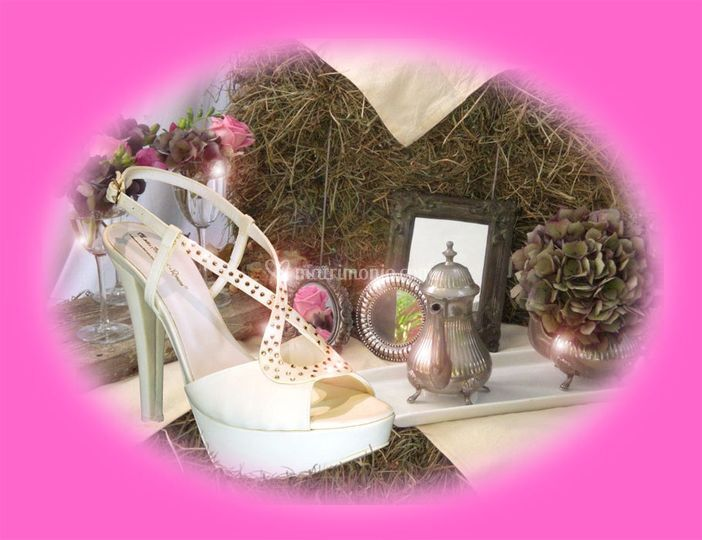 Scarpa sposa chanell