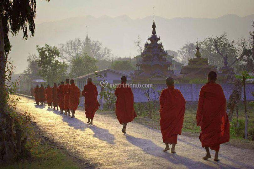 Monaci Thailandia