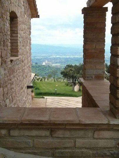 Vista sulla Basilica