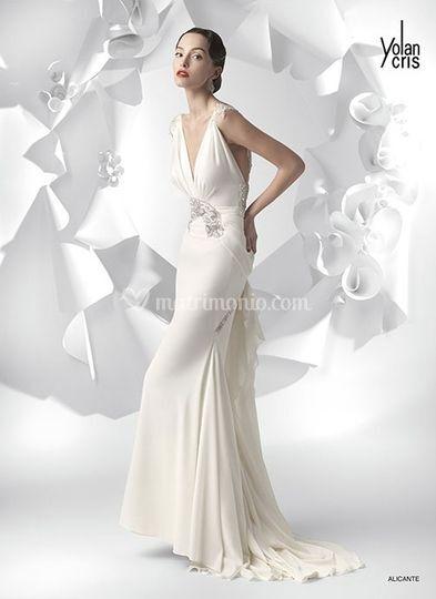 low priced 86ae7 41f08 Vestiti da sposa Yolancris 2011