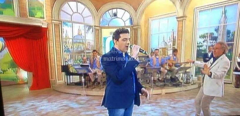 Marco Pierucci Mezzogiorno in Famiglia (tv)
