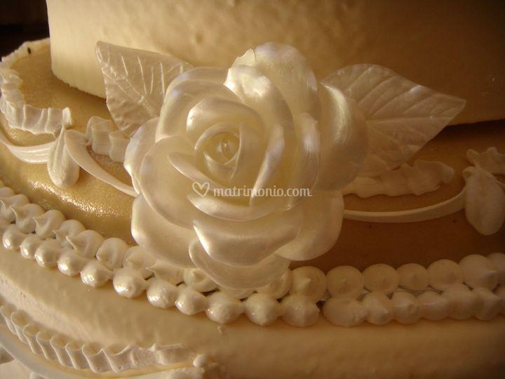 Rosa di zucchero handmade