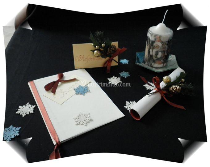 Decorazioni Matrimonio Natalizio : Decorazioni fai da te per matrimonio natalizio