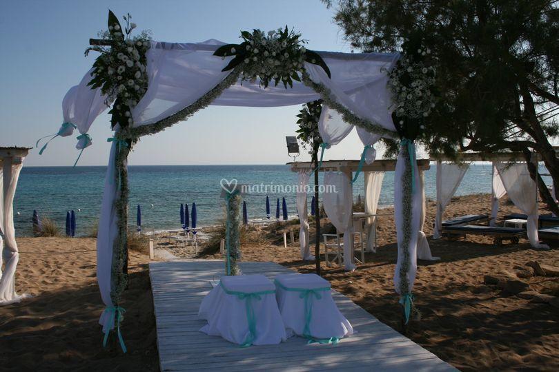 Matrimonio Simbolico In Spiaggia : Mirto e fiori d arancio