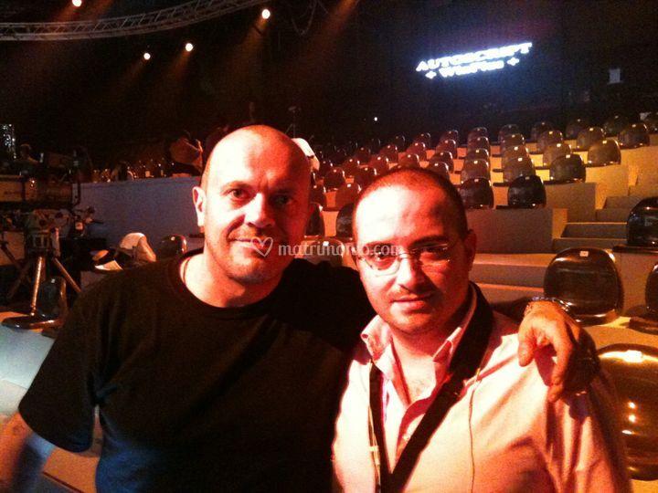 With M. Pezzali 2011