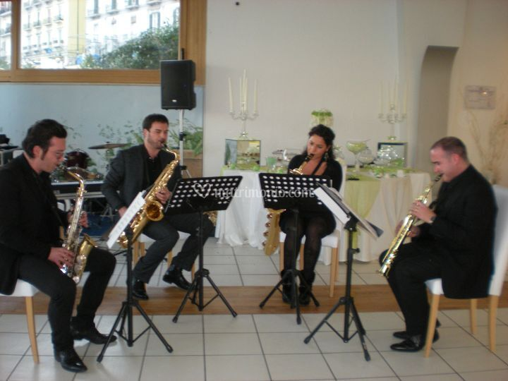 Sax Quartet Rag Time