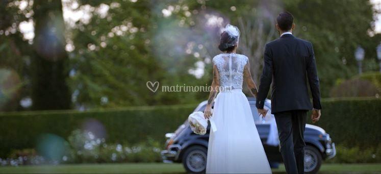 Arrivano gli sposi