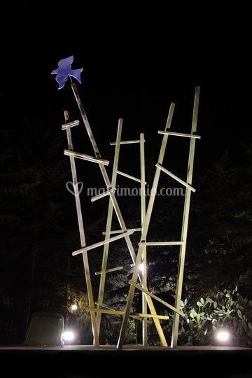 Le Grandi Scale, scultura