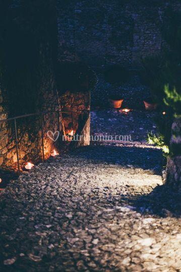 Castello Teofilatto in notturn