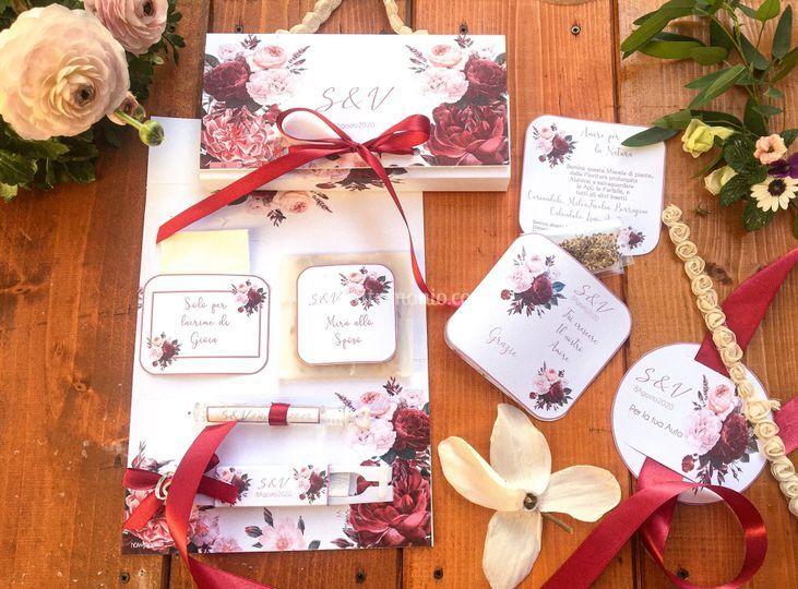 Wedding kit -wedding bag