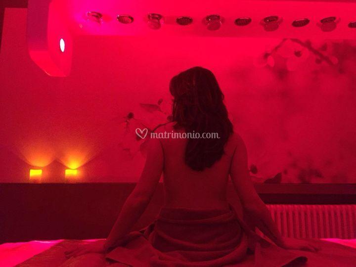 Lettino termale aemotio spa