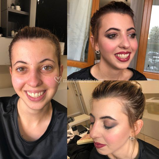 Chiara prima e dopo