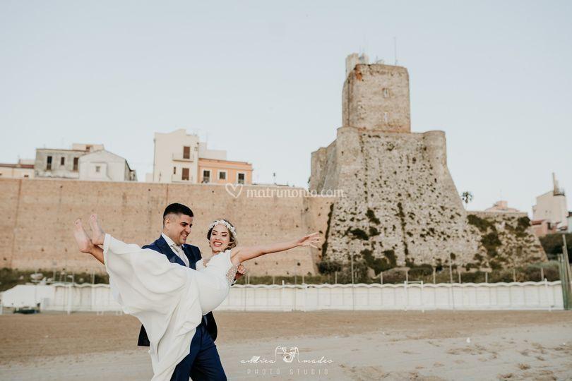 Couple wedding termoli