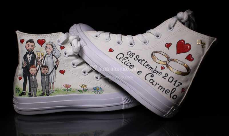 Scarpe Personalizzate Sposa.Scarpe Personalizzate Di Nicola Spisso Di Scarpe Personalizzate Di