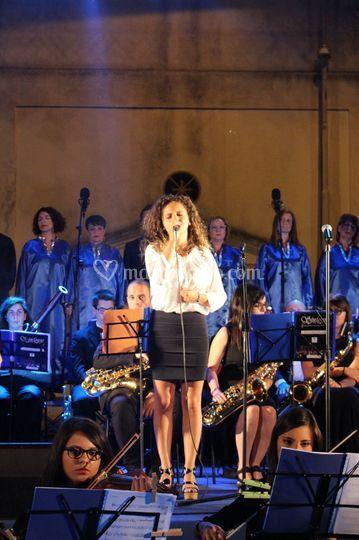 Esibizione con orchestra
