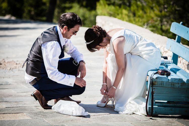 Romantic wedding in Kefalonia