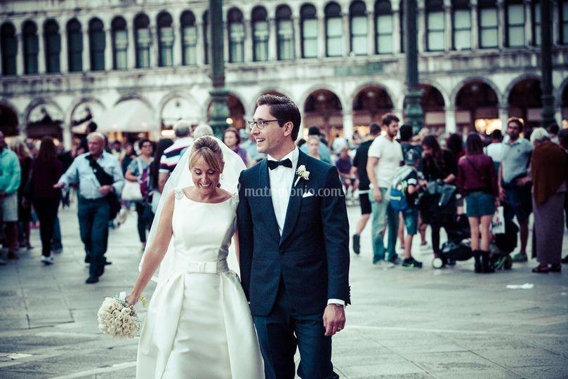 Audrey & Giuseppe, San Marco