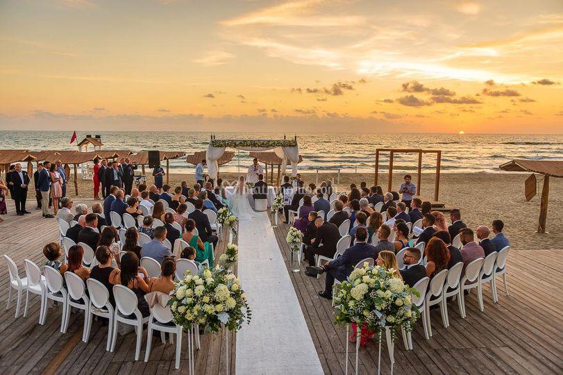 Elena e Pio Wedding beach day