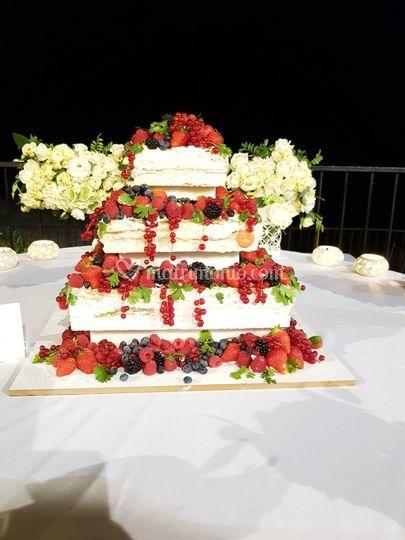 Millefoglie naked cake