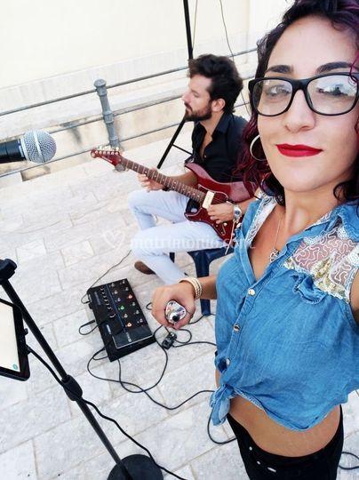 Ak live in piazza a Valderice