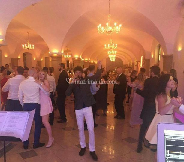 Francesco Blunda live wedding