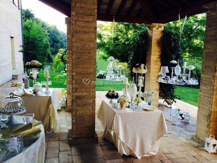 Confettata con vista Golf Club