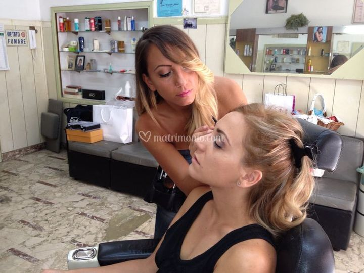 Enrica Blanco Make Up