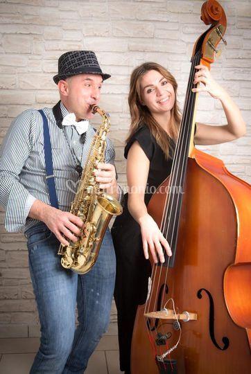 Sax e contrabbasso
