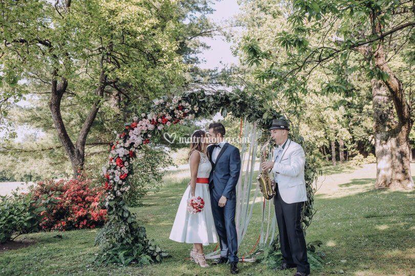 Wedding con the pianist