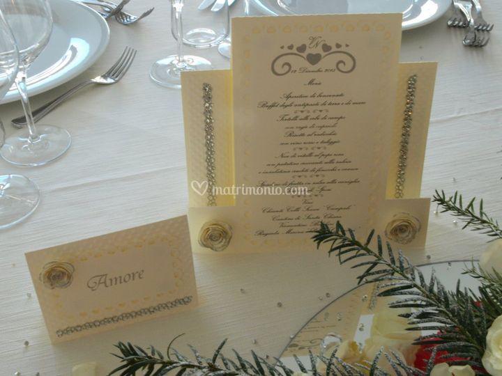 Segna tavolo e menù