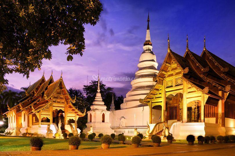 Tempio Phra-Singh-Chiang Mai.