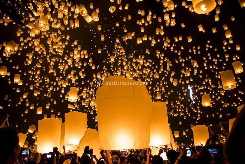 Festival delle luci-Thailandia