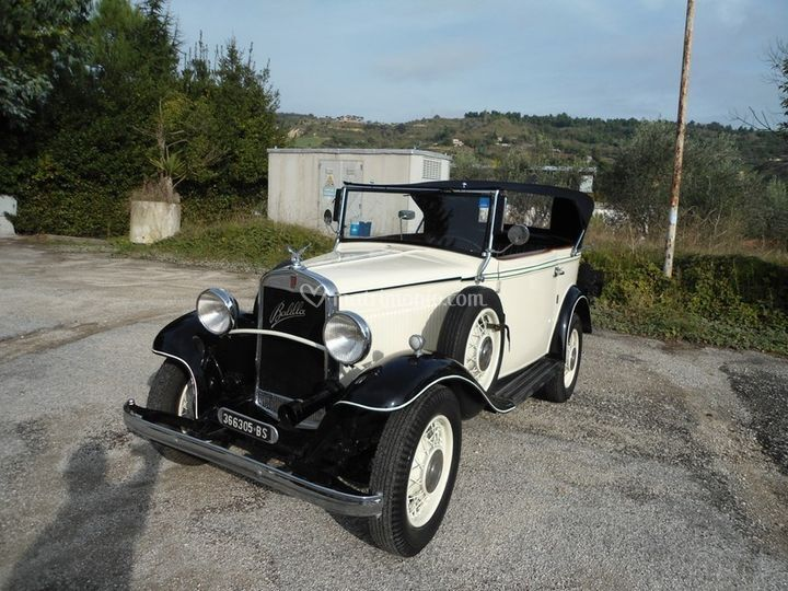 Fiat Balilla Cabriolet 1932