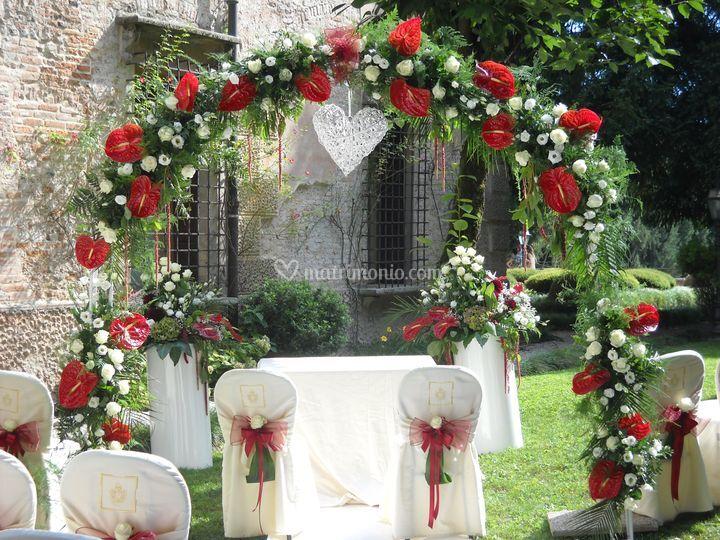 Addobbi Matrimonio Bohemien : Fioreria all arco