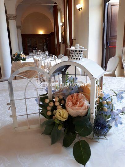 Centro tavola ospiti