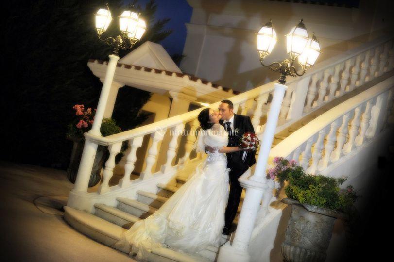 Sulla scalinata