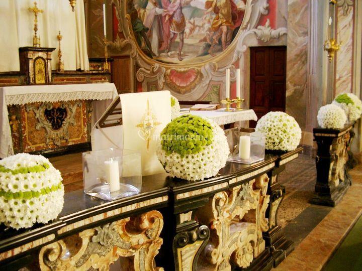 Allestimento Chiesa Ortensie : Nikyflor