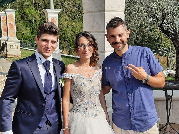 Claudio e Licia 25 9 2020