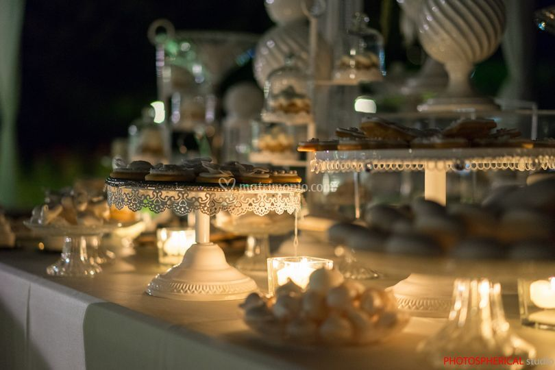 Villa Gazzani: Sweet table