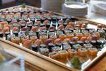 Dettagli buffet: angolo sushi