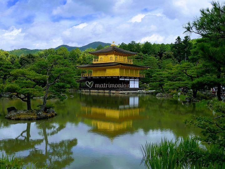 Tempio d'oro Kyoto