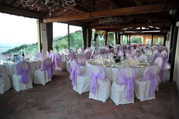 Sala Matrimonio Toscana : Agriturismo poggio tondo