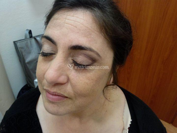 Prova sposa occhio destro